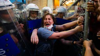 Austritt aus Istanbul-Konvention: Proteste in der Türkei