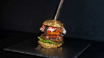 World's most expensive burger created in Netherlands