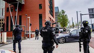 'Uyuşturucu karteli' Tse Chi Lop, Hollanda'nın Rotterdam kentindeki mahkemeye getiriliyor, 22 Haziran 2021