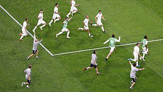 Espanha festeja a vitória