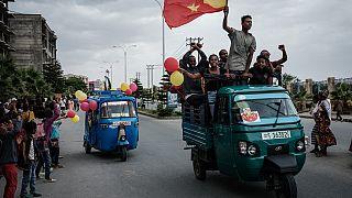 Ethiopie : scènes de liesse à Mekele pour le retour des forces du Tigré