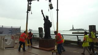 'Little Sister' Statue of Liberty.