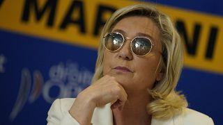 زعيمة اليمين المتطرف الفرنسي مارين لوبن