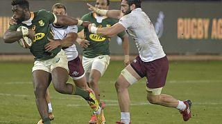 Rugby : retour gagnant pour les Springboks contre la Géorgie