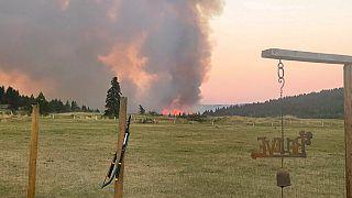 آتشسوزی و موج گرما در کانادا