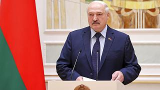 Belarus' president says Western states are trying to overthrow him
