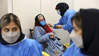 Virus Outbreak Iran