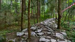 الطريق الروماني في جمهورية البوسنة الذي اكتشف مؤخرا وأصبح مكانا سياحيا