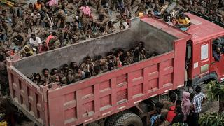 More than '7,000 captive Ethiopian' soldiers paraded in Tigray by rebel fighters