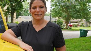 ABD'de işten atılan hemşirelerin sözcüsü Jennifer Bridges