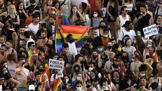LGTBI Pride in Madrid