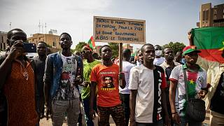 Burkina Faso: Thousands protest against rising jihadist bloodshed