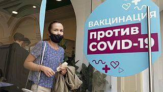 Campanha de vacinação contra a covid-19 na Rússia
