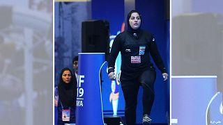 پریسا جهانفکریان، وزنهبردار ایرانی