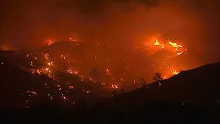 Wildfires in Cyprus