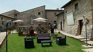 L'ostello Colle Mordani a Trevi nel Lazio