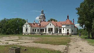 Schloss Sancrai in Siebenbürgen