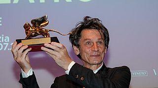 Krzysztof Warlikowski con il Leone d'Oro