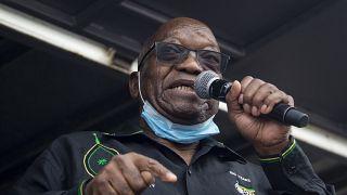 Afrique du Sud : Jacob Zuma déclare qu'il ne se constituera pas prisonnier