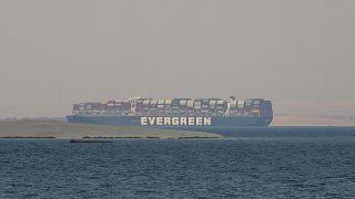 سفينة الحاويات العملاقة إيفر غيفن
