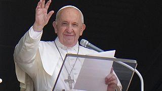 Ferenc Pápa július negyedikén néhány órával a műtét előtt