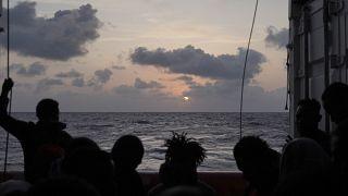 File photo: Ocean Viking - Migrants