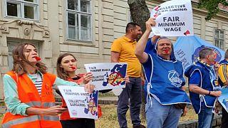 Une caravane pour les droits sociaux en Europe