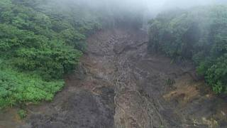دستکم دو کشته و ۲۰ ناپدید در پی رانش زمین در مرکز ژاپن