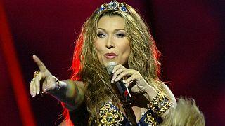 Анжелика Агурбаш представляла Беларусь на конкурсе Евровидение в 2005 году