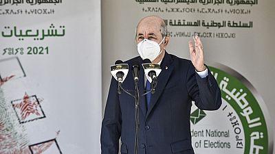 """Algérie : le président Tebboune vise une  """"normalisation politique"""""""
