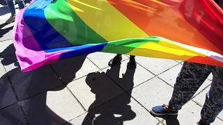 The Pride March had been planned successful  the centre of the metropolis  connected  Monday.