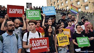 Gürcü LGBT aktivistler