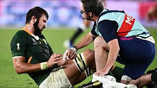 Springboks in isolation again after De Jager tests positive