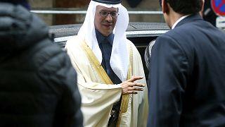 وزير الطاقة السعودي عبد العزيز بن سلمان يصل إلى مقر منظمة الدول المصدرة للنفط أوبك في فيينا. 2020/03/06
