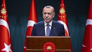 Cumhurbaşkanı Recep Tayyip Erdoğan kabine toplantısı sonrası açıklamalarda bulundu