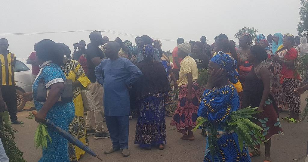 Distressed parents await news of abducted students in Nigeria's northwest