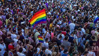 Protestas en España por el asesinato de un joven homosexual
