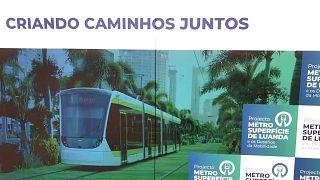 Projeto de metro de superfície em Luanda