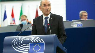 ο Πρωθυπουργός της Σλοβενίας, Γιάνες Γιάνσα