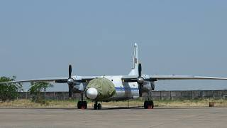 File photo of an AN-26 plane, one of which has gone missing in Russia's far-east