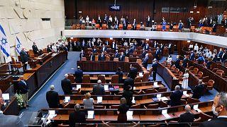 البرلمان الإسرائيلي -الكنيست- في القدس.