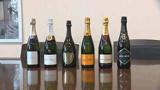 """Champán francés y otras botellas de """"champánskoe"""", el vino espumoso ruso"""