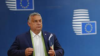 Viktor Orban à Bruxelles, lors d'un sommet européen