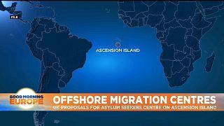 British overseas territory of Ascesion Island in the Atlantic Ocean.