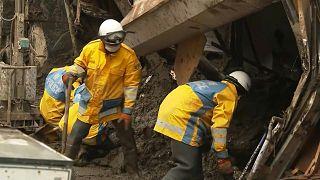 Deadly Japan mudslide