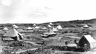 Φωτό αρχείου - Νήσος Αναλήψεως το 1944