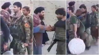 طالبان تعرض مقطع فيديو تقول إنه يظهر استسلام جنود أفغان