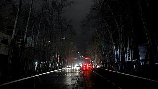 تصویری آرشیوی از قطبی برق در تهران