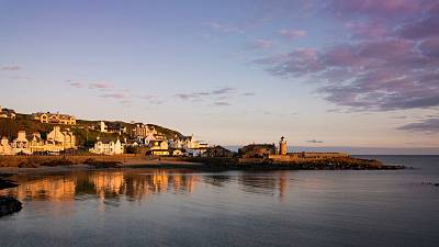 Portpatrick in Scotland might host one end of the bridge