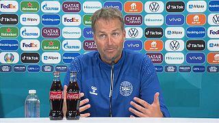 Kasper Hjulmand, coach de l'équipe danoise